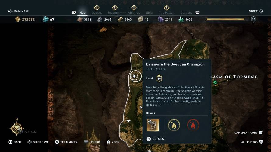 Assassin's Creed Odyssey Velo Tartaro