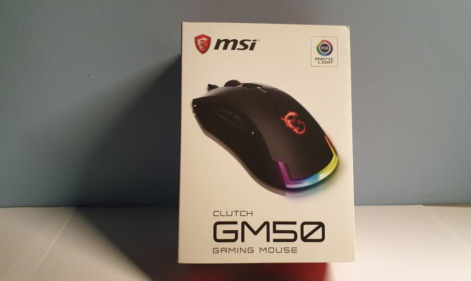 MSI Clutch GM50 Gaming Mouse - Recensione