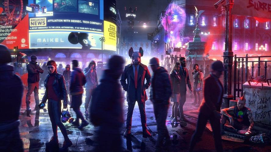 Watch Dogs Legion mappa