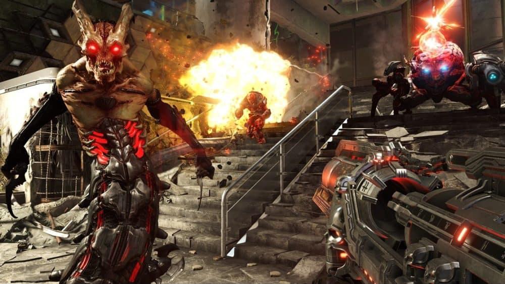 Doom Eternal gameplay