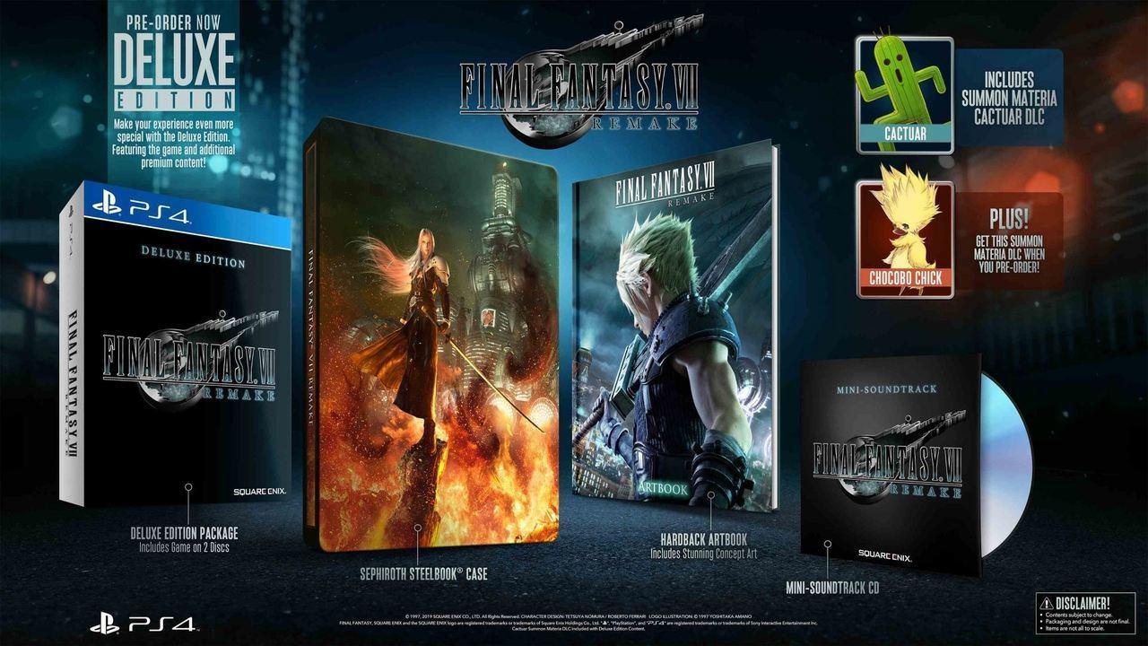 Final Fantasy VII Remake edition