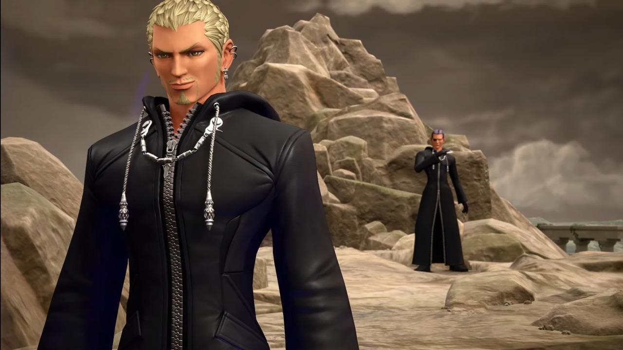 Kingdom Hearts III ReMIND Luxord Xigbar