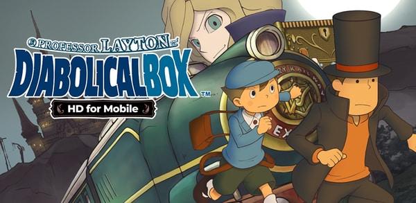 Professor Layton and the Diabolical Box HD è ora disponibile
