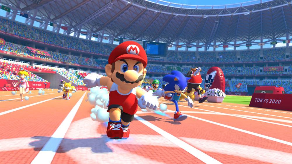 Mario e Sonic ai Giochi Olimpici di Tokyo 2020 Line Up Nintendo