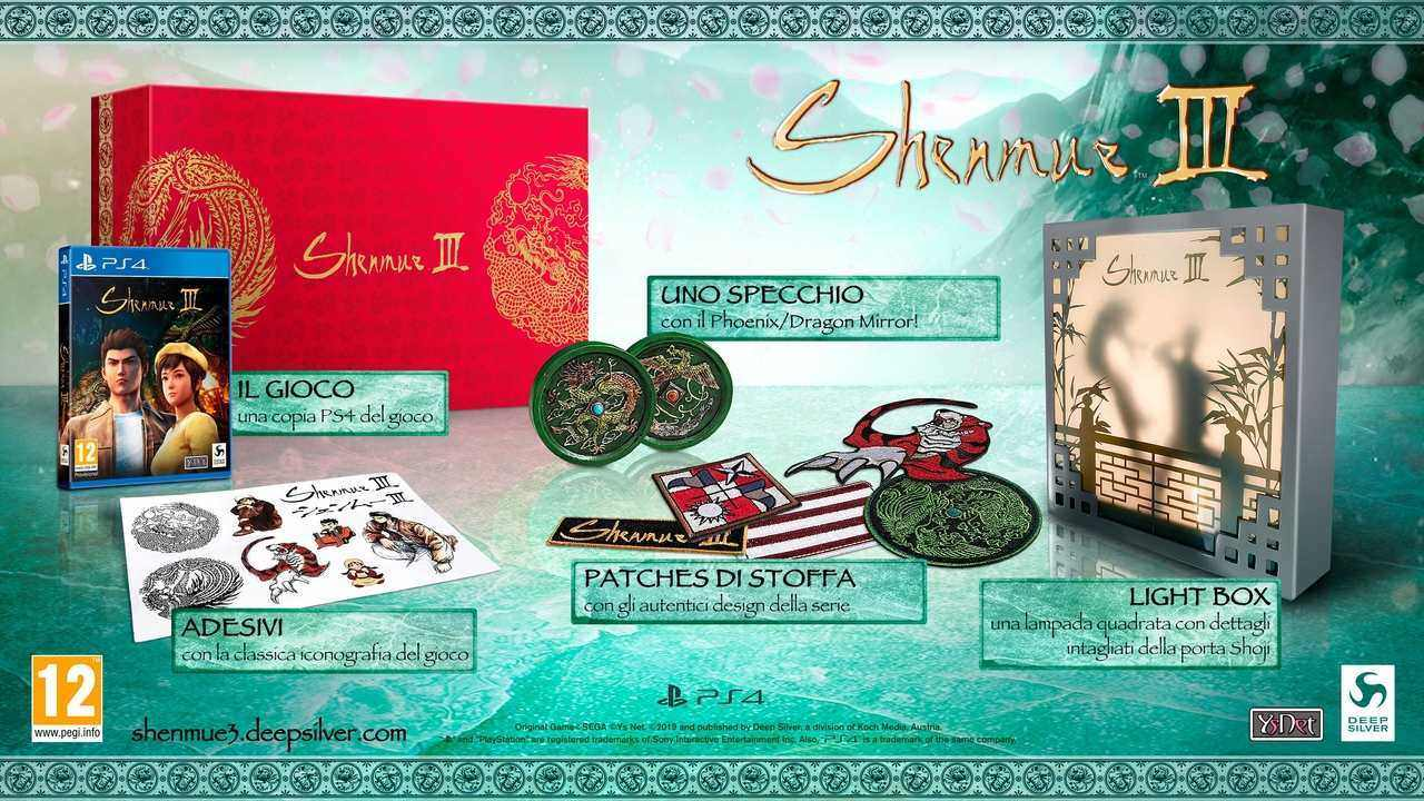 Shenmue III Collector's Edition