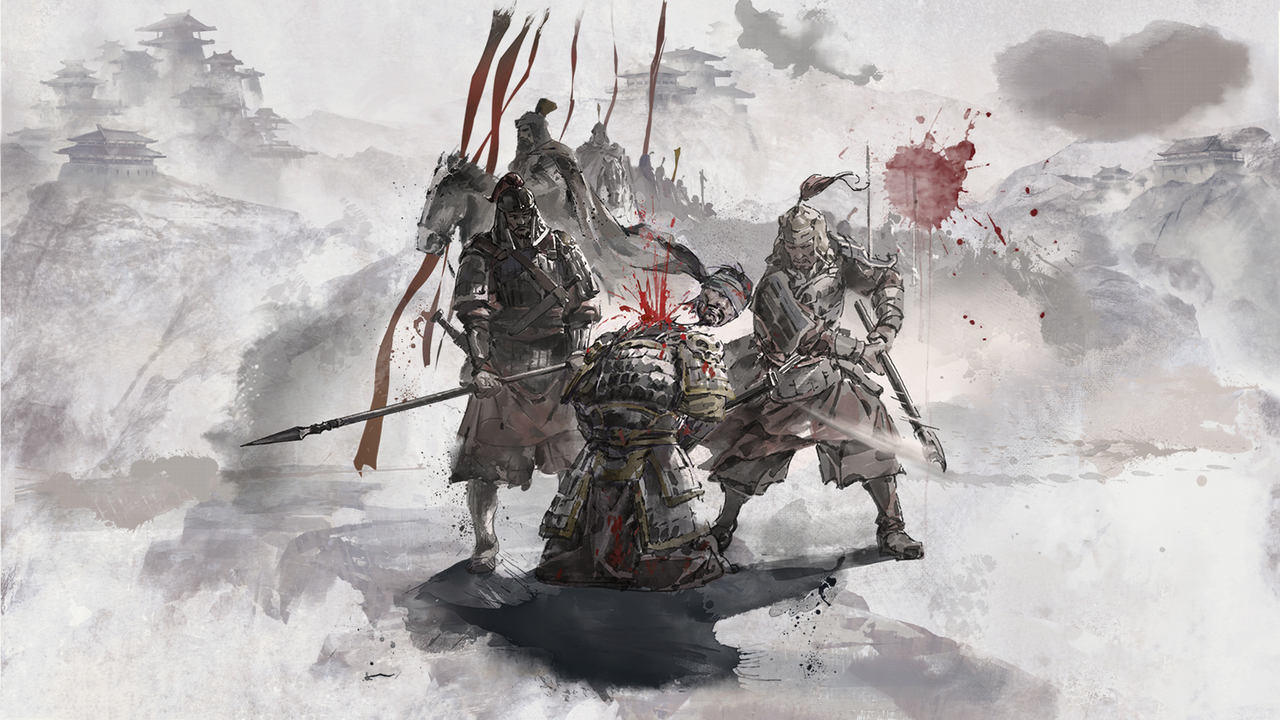Total War Three Kingdoms Reign of Blood artwork