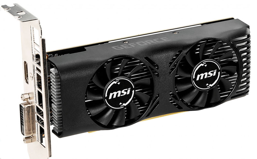 MSI GeForce GTX 1650 front
