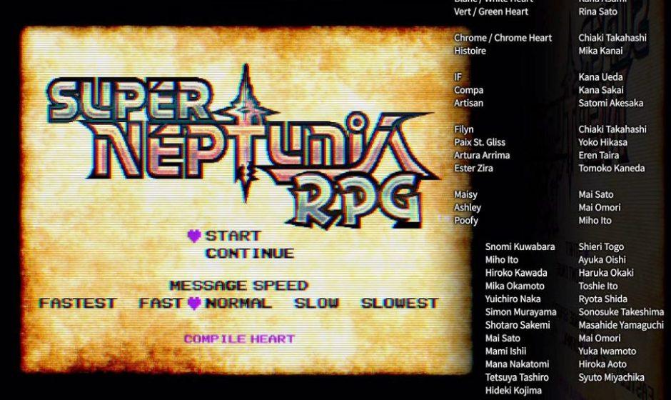 Super Neptunia RPG - Recensione