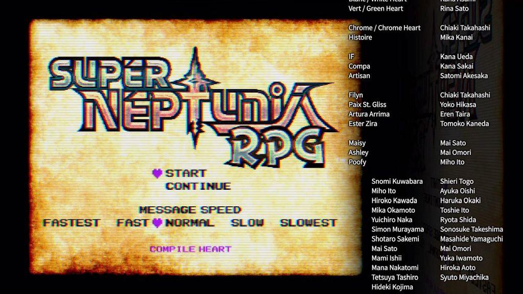 Super Neptunia RPG – Recensione
