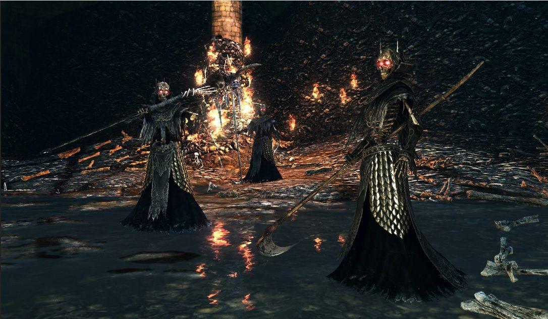 Signori degli Scheletri in Dark Souls 2