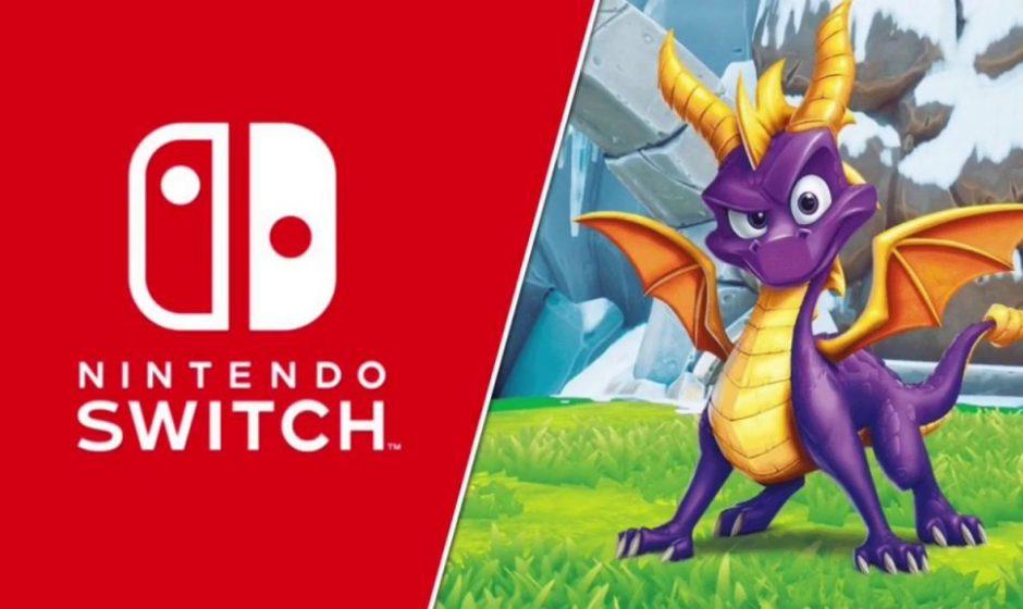 Spyro Reignited Trilogy arriva su Nintendo Switch