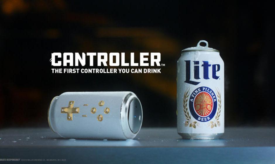 Miller Lite Cantroller: Per un' estate da gamer!