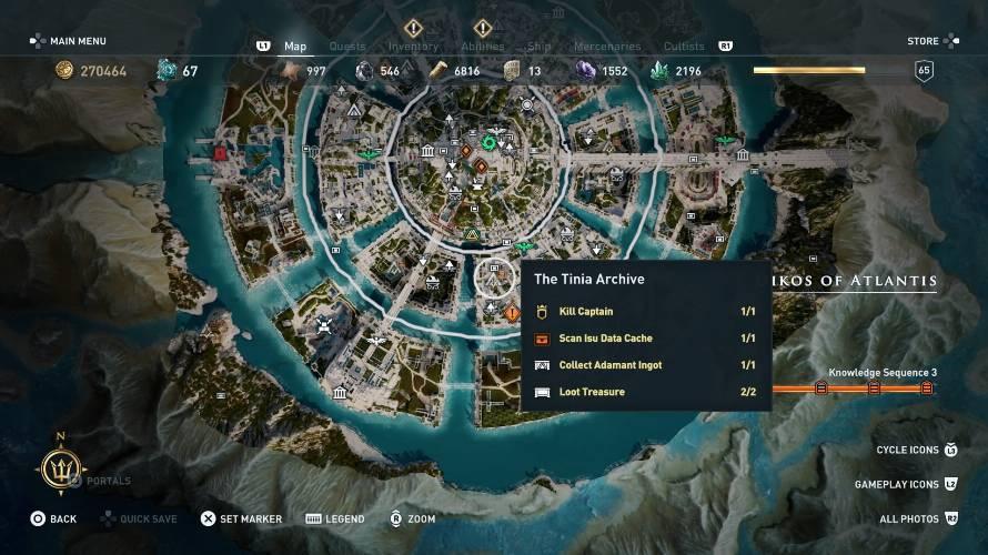 Assassin's Creed Odyssey armi Adamant
