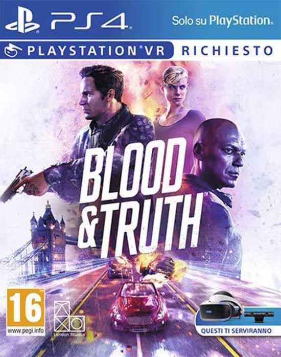 Cover Blood & Truth