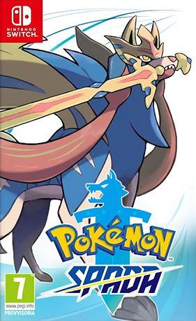 Cover Pokémon Spada e Scudo