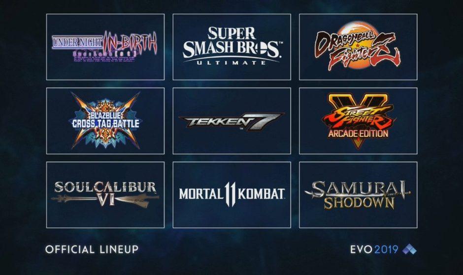 Playstation sponsor EVO 2019