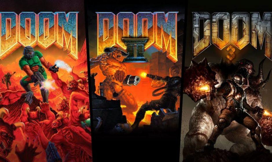 Doom, Doom II, Doom 3 - Recensione PlayStation 4