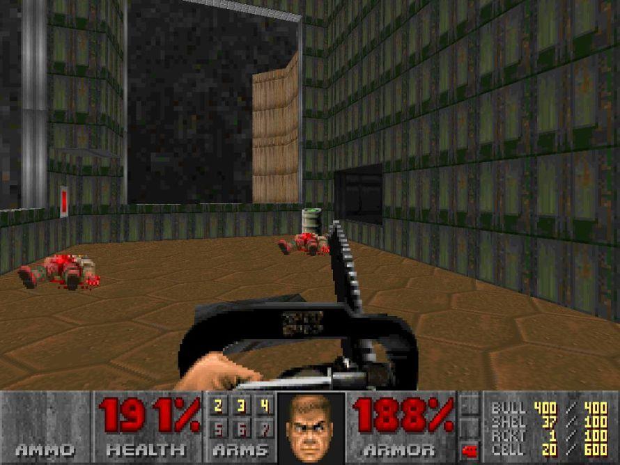 Doom II chainsaw