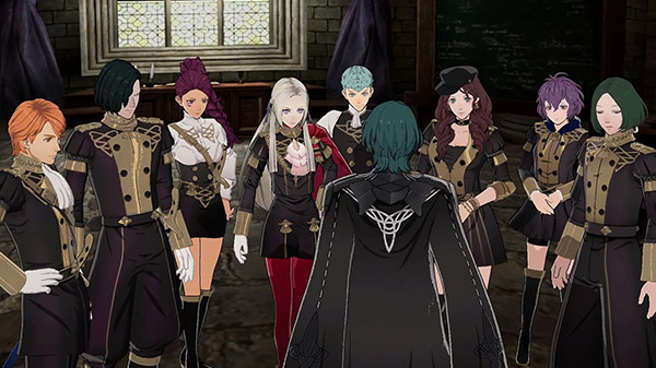 Fire Emblem: Three Houses personaggi