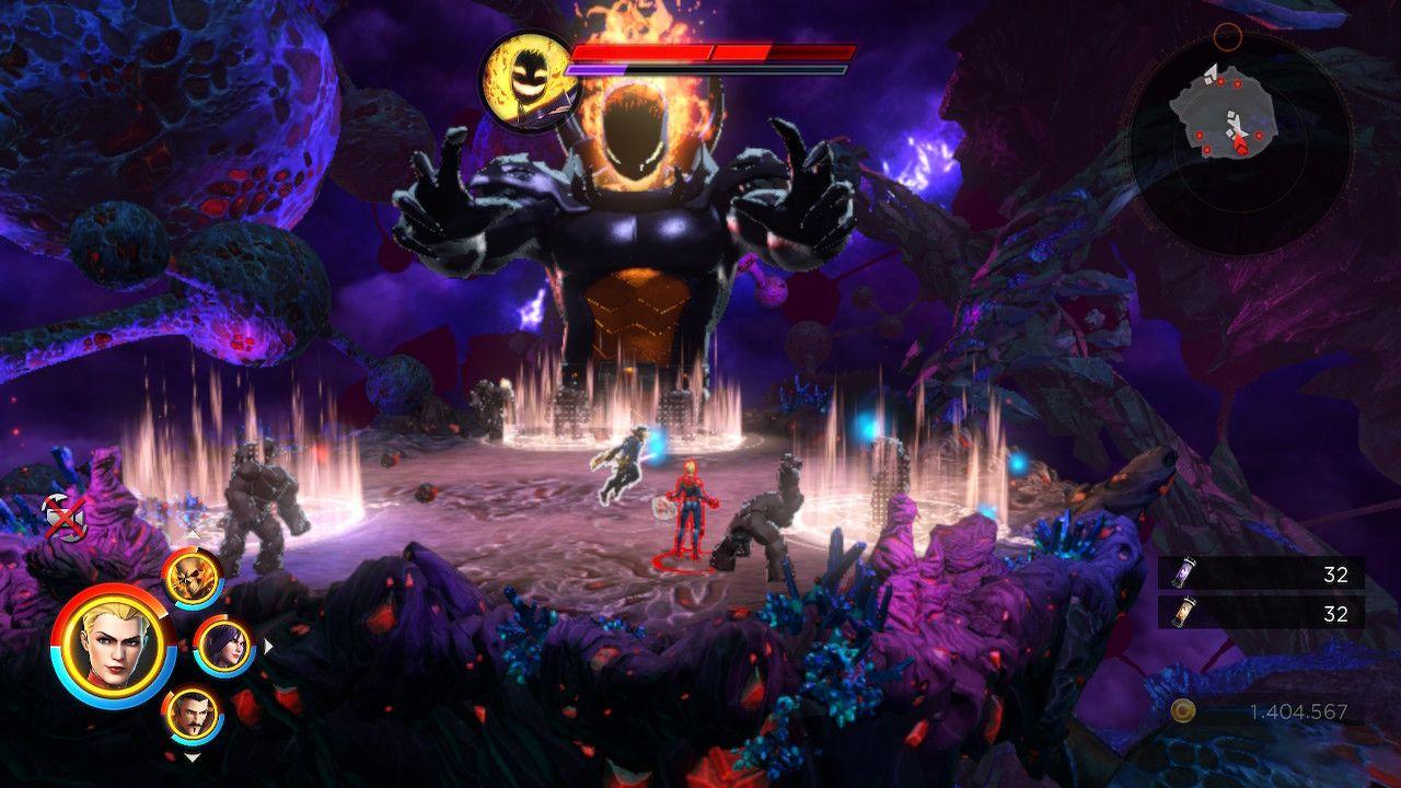 Marvel Ultimate Alliance 3 boss