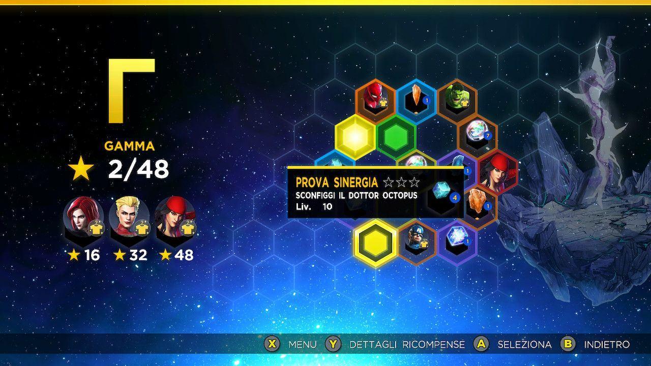 Marvel Ultimate Alliance 3 gemme