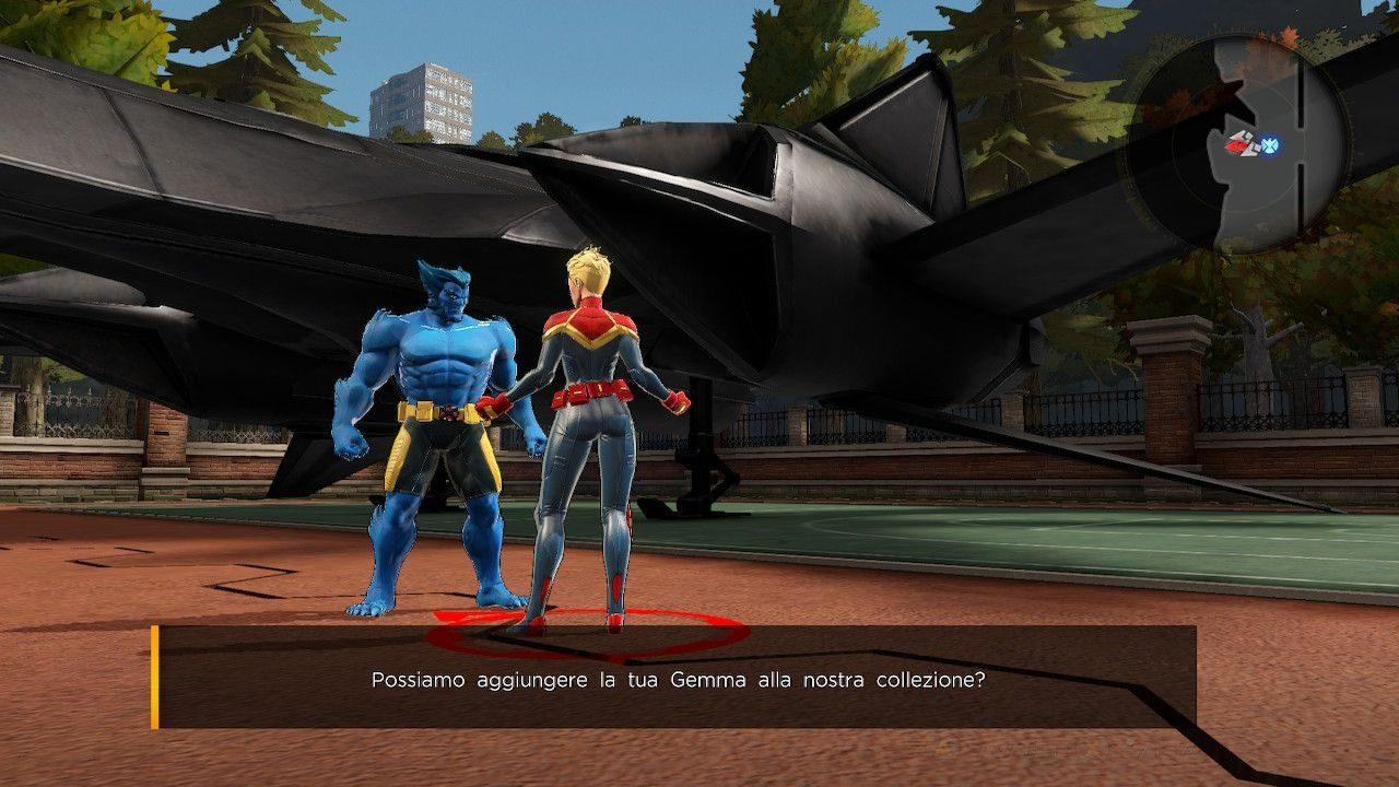 Marvel Ultimate Alliance 3 scrittura