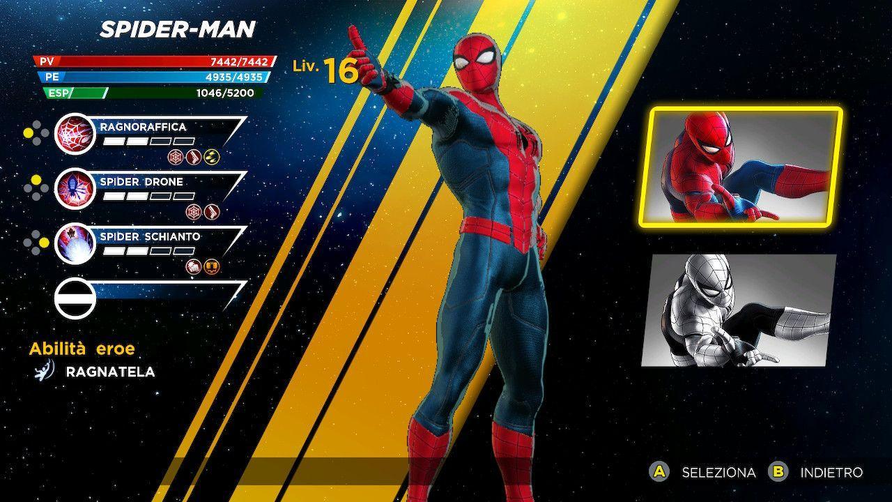 Marvel Ultimate Alliance 3 skin