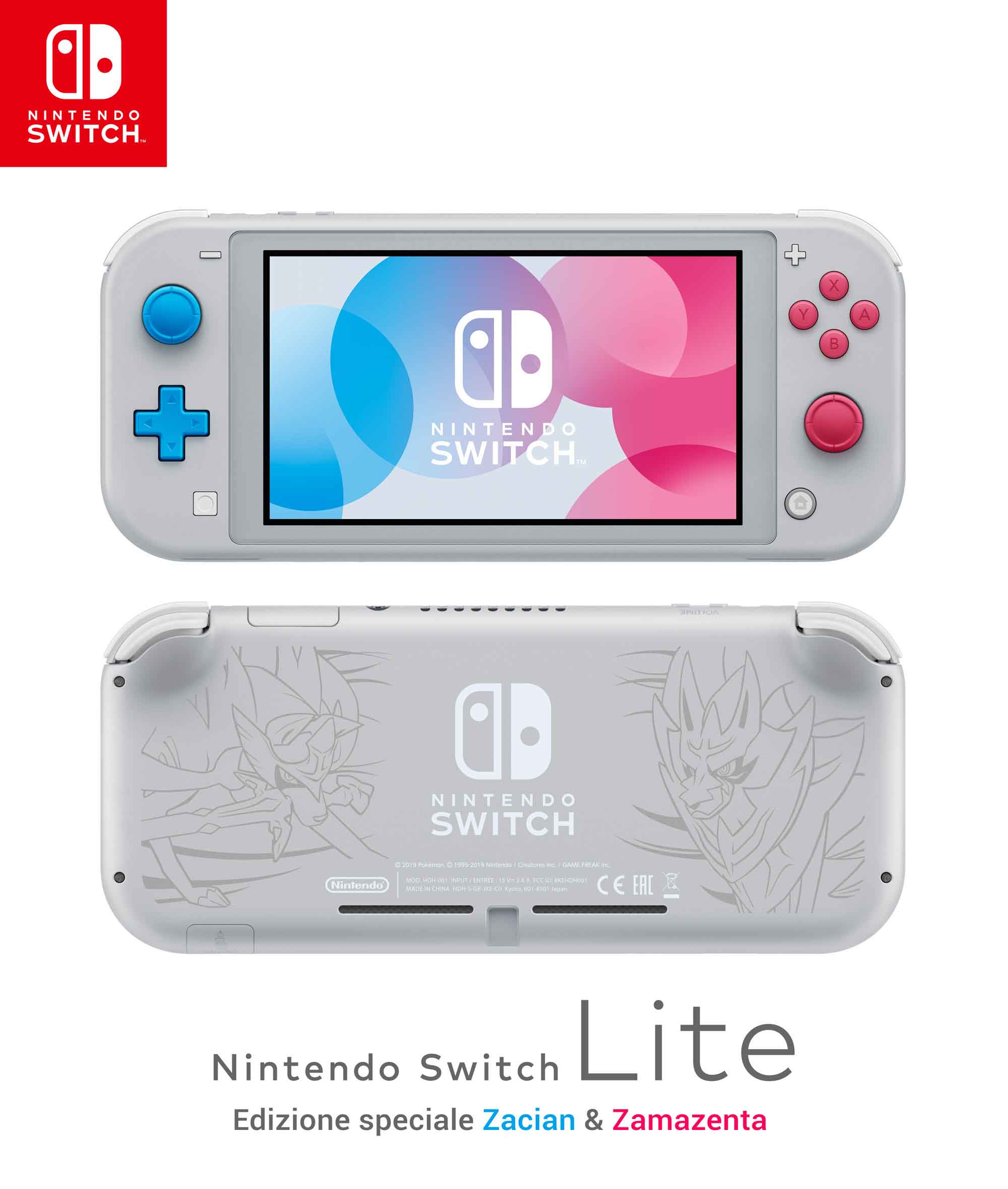 Nintendo Switch Lite Pokémon Sword Shield