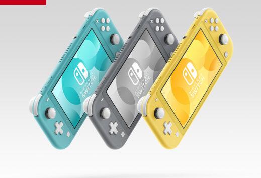 Switch Lite: quest'anno è l'unica console Nintendo