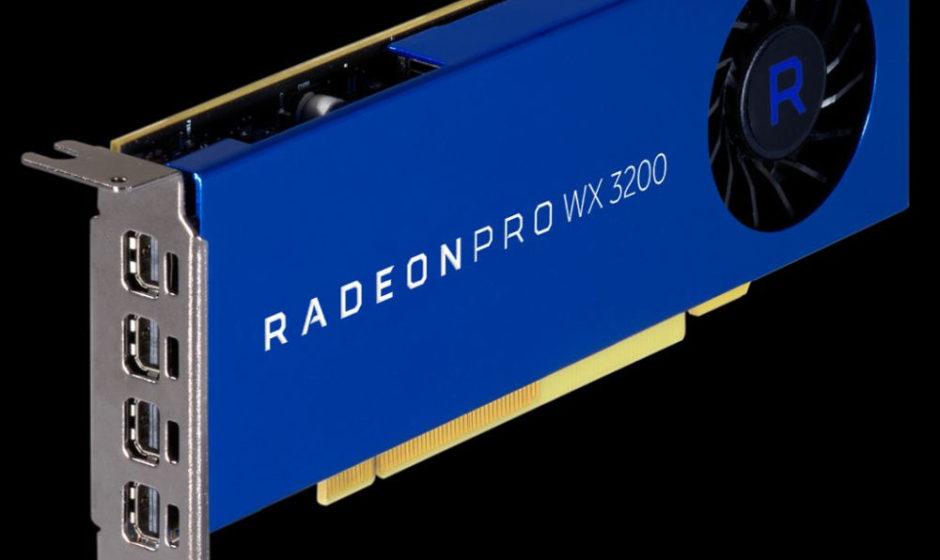 AMD Radeon Pro WX 3200 - Grafica da workstation
