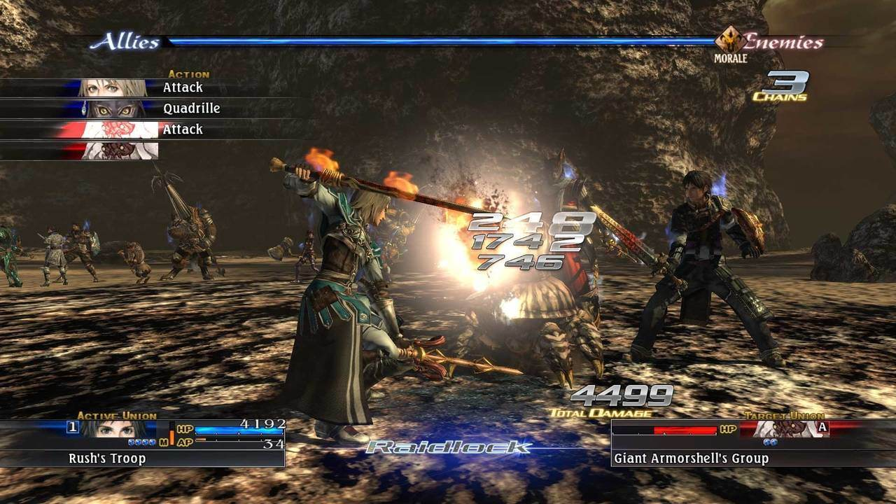 The Last Remnant Remastered battle