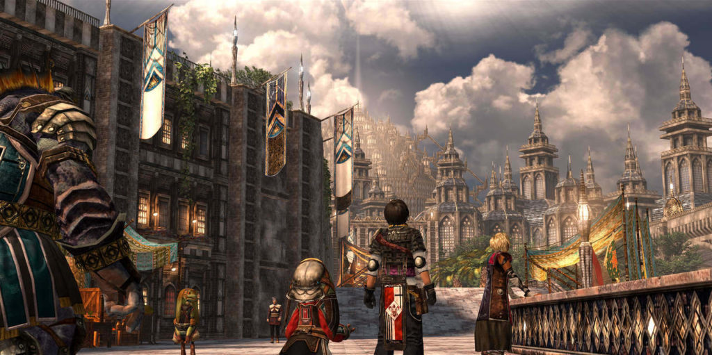 The Last Remnant Remastered city