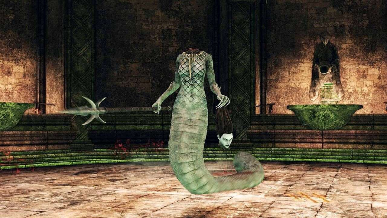 Dark Souls 2 boss Mytha