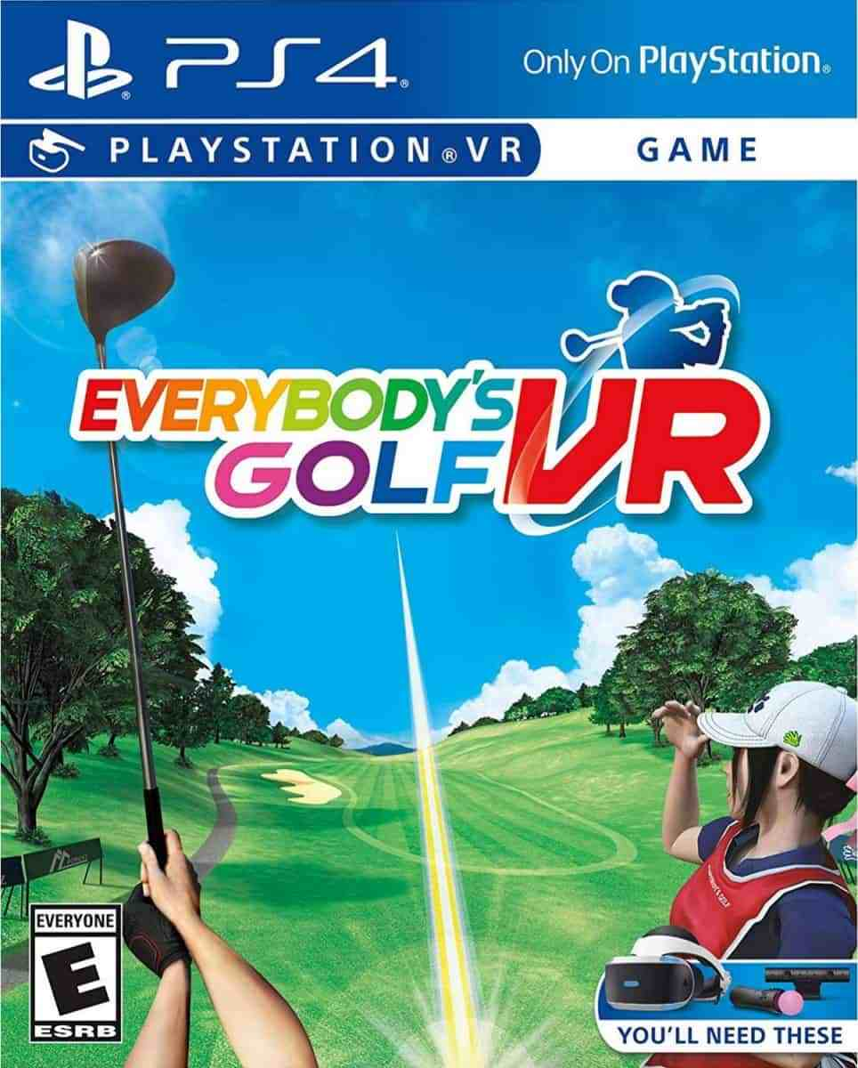 Cover Everybody's Golf VR