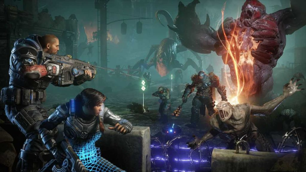 Gears 5 trailer gamescom