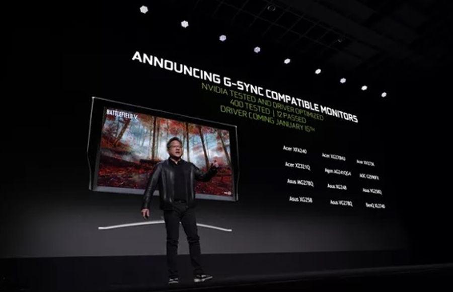 Nvidia aggiorna lista g-sync