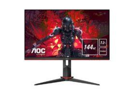 AOC presenta tre monitor durante Gamescom 2019