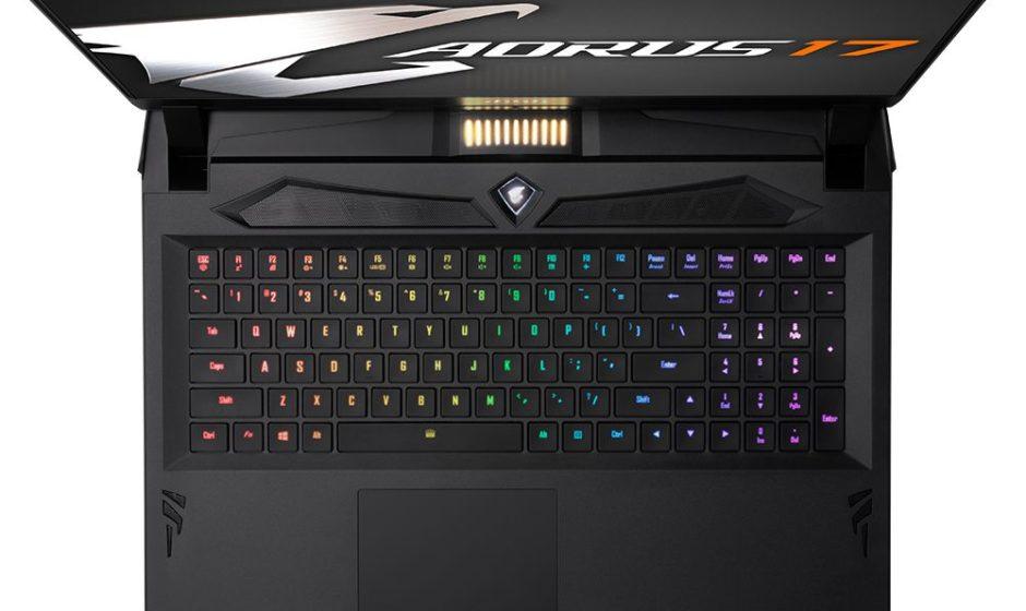 Gigabyte annuncia il portatile da gaming Aorus 17