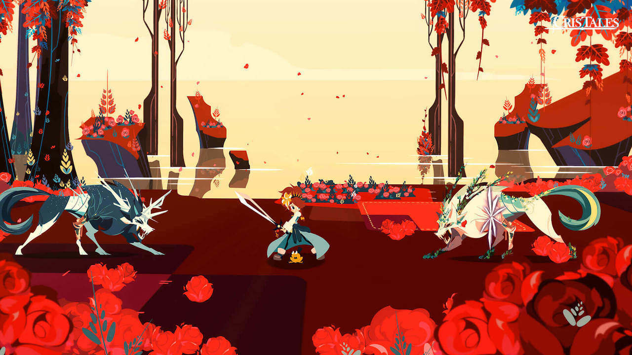 Cris Tales battle2
