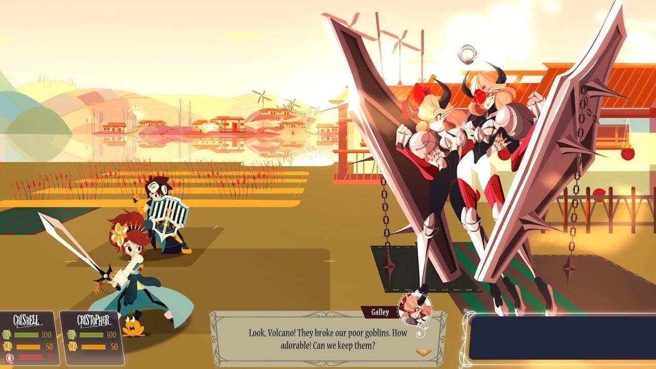 Cris Tales boss battle