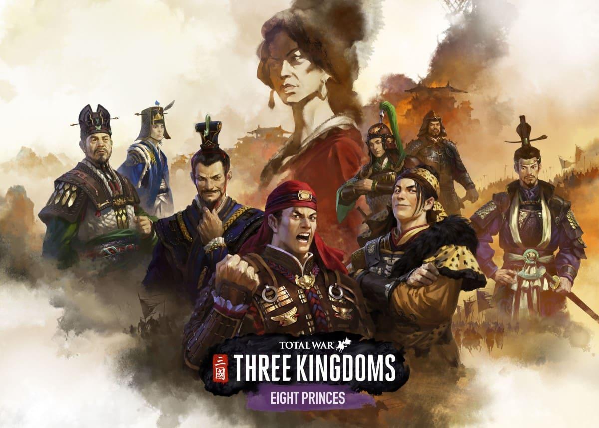 Total War: Three Kingdoms – Eight Princes DLC
