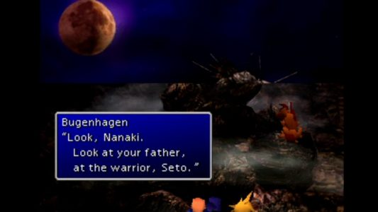 Final Fantasy VII Bugenhagen Nanaki