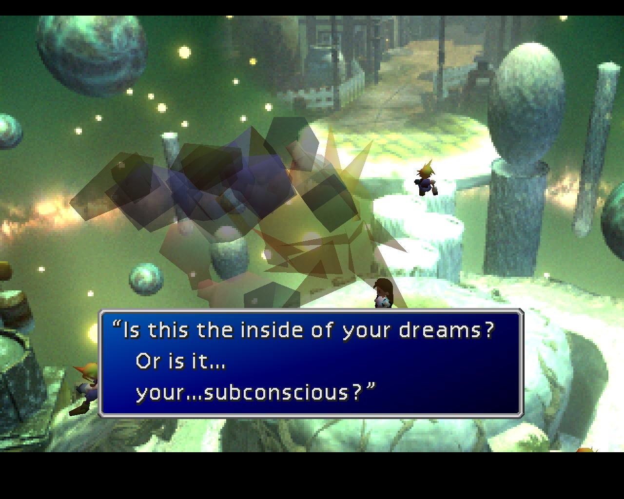 Final Fantasy VII Cloud mind