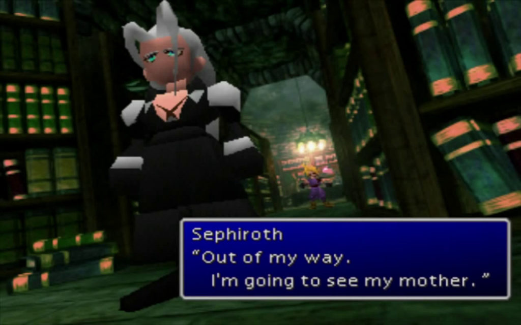 Final Fantasy VII Sephiroth Shinra Mansion