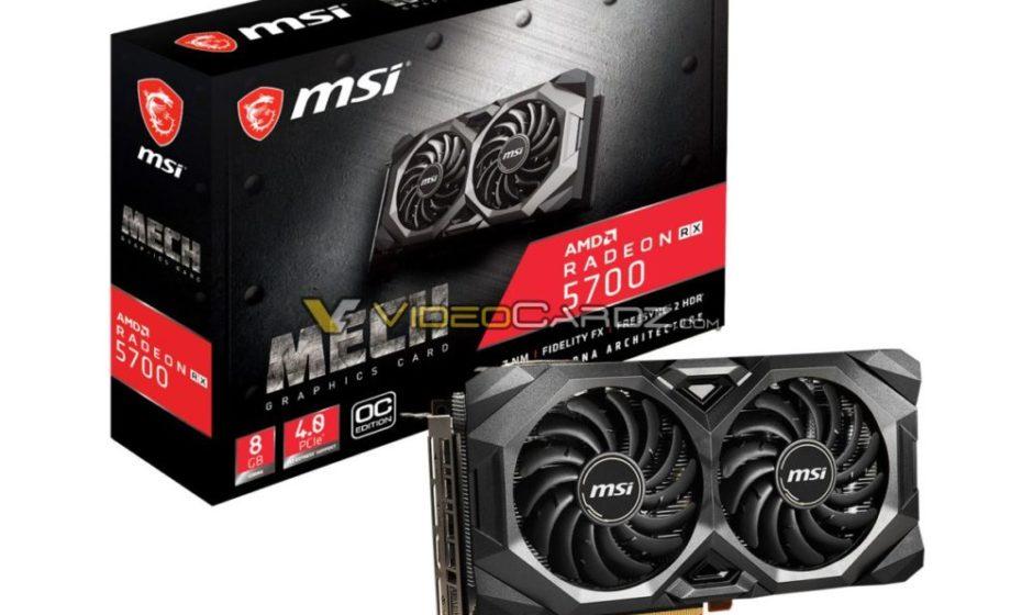 MSI annuncia nuove GPU custom : RX 5700 (XT) Mech