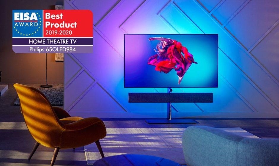 Display OLED Philips TV vincitori di due award