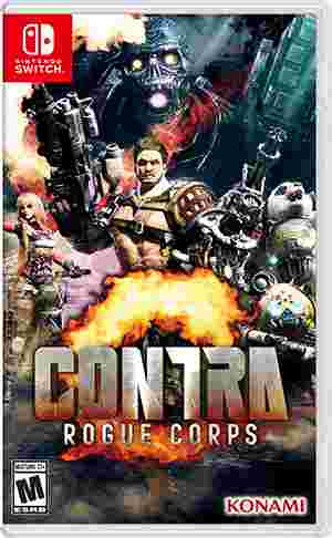Cover Contra: Rogue Corps