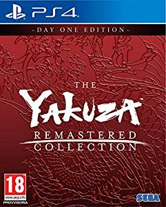 Cover The Yakuza Remastered Collection
