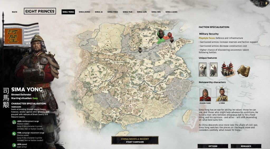 Total War: Three Kingdoms - Eight Princes DLC