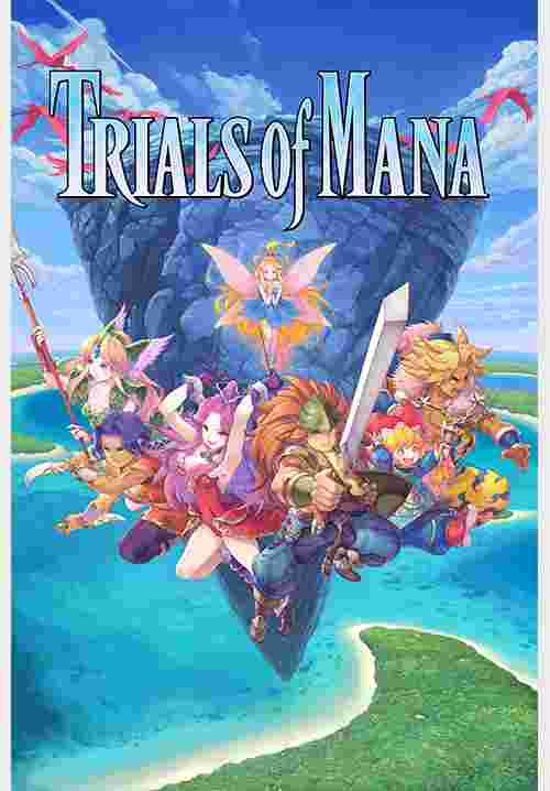 Cover Trials Of Mana